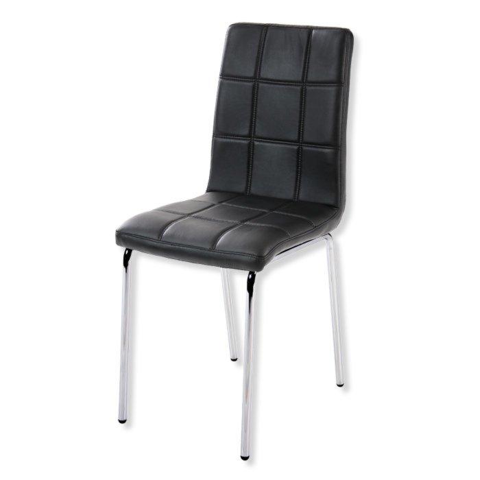 Polsterstuhl NANCY schwarz Stühle