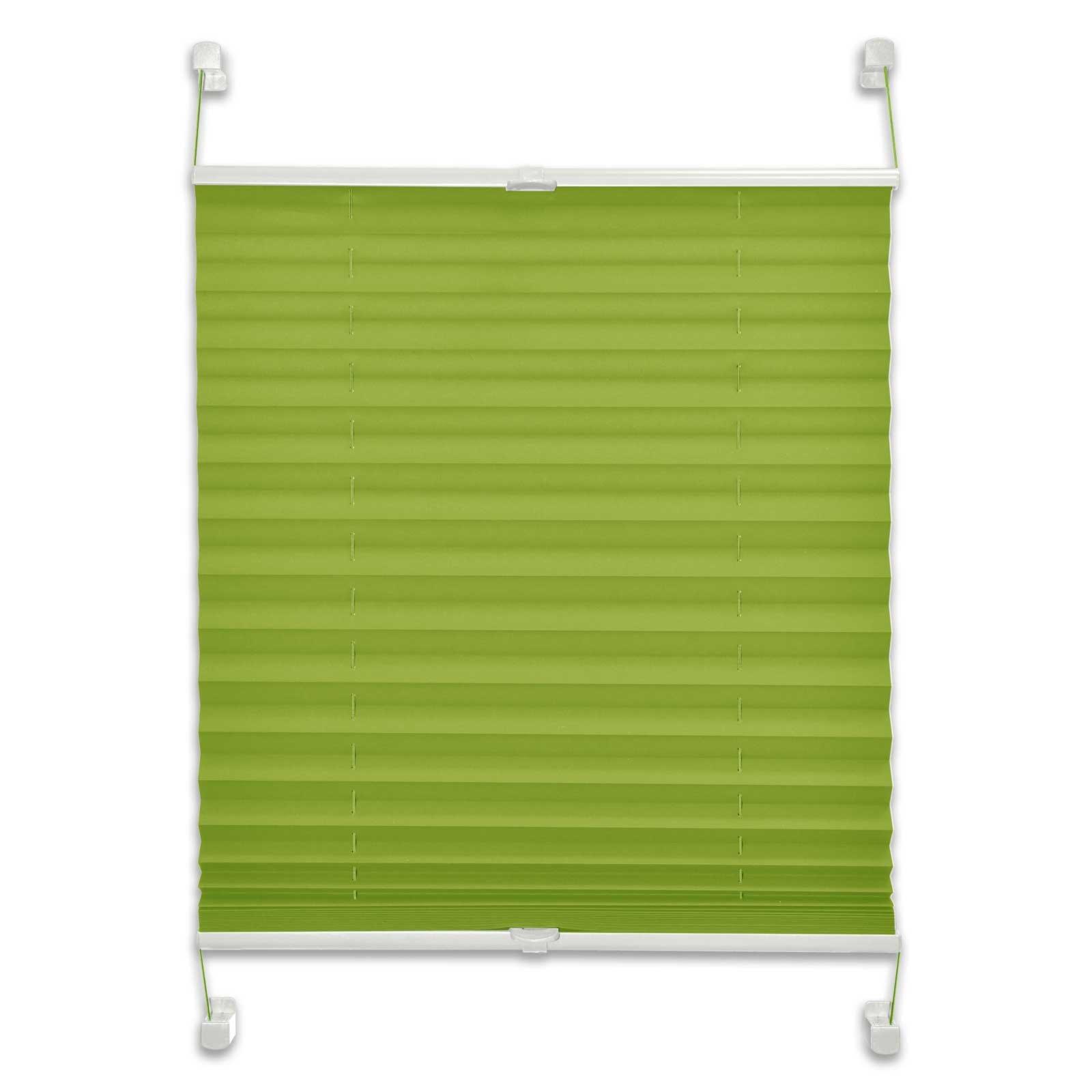 Plissee - blickdicht - grün - 60x130 cm