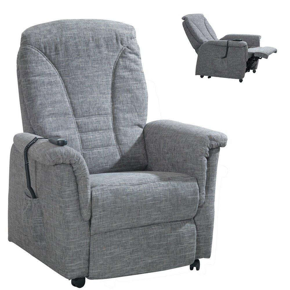 fernsehsessel grau mit motor aufstehhilfe fernseh. Black Bedroom Furniture Sets. Home Design Ideas