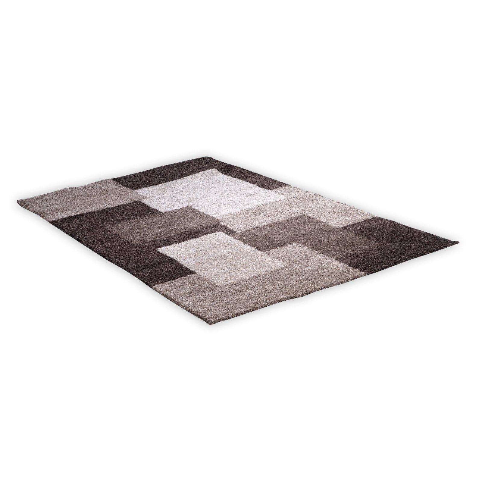 Teppich NOVA  beigebraun  80×150 cm  Gemusterte