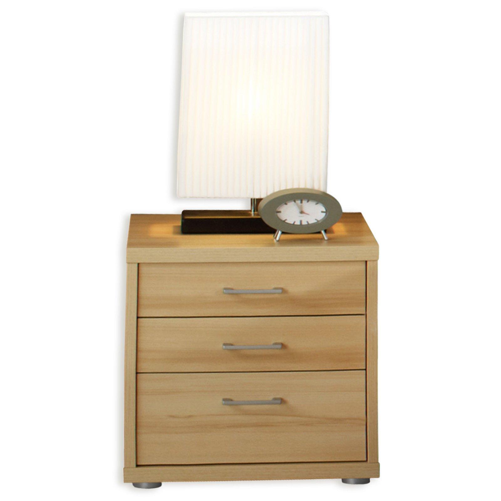 nachttisch iris buche natur 50 cm nachttische schlafzimmer wohnbereiche roller m belhaus. Black Bedroom Furniture Sets. Home Design Ideas