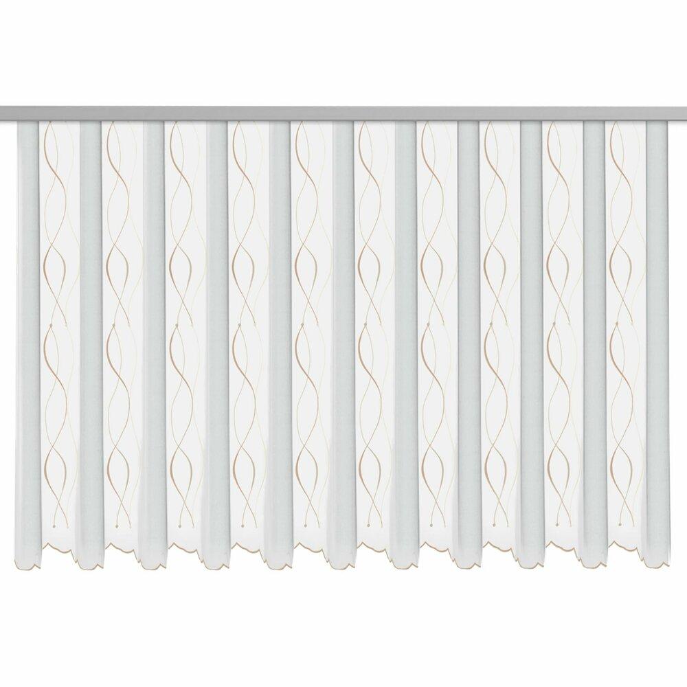gardine wei natur 300x140 cm transparente gardinen gardinen vorh nge deko. Black Bedroom Furniture Sets. Home Design Ideas