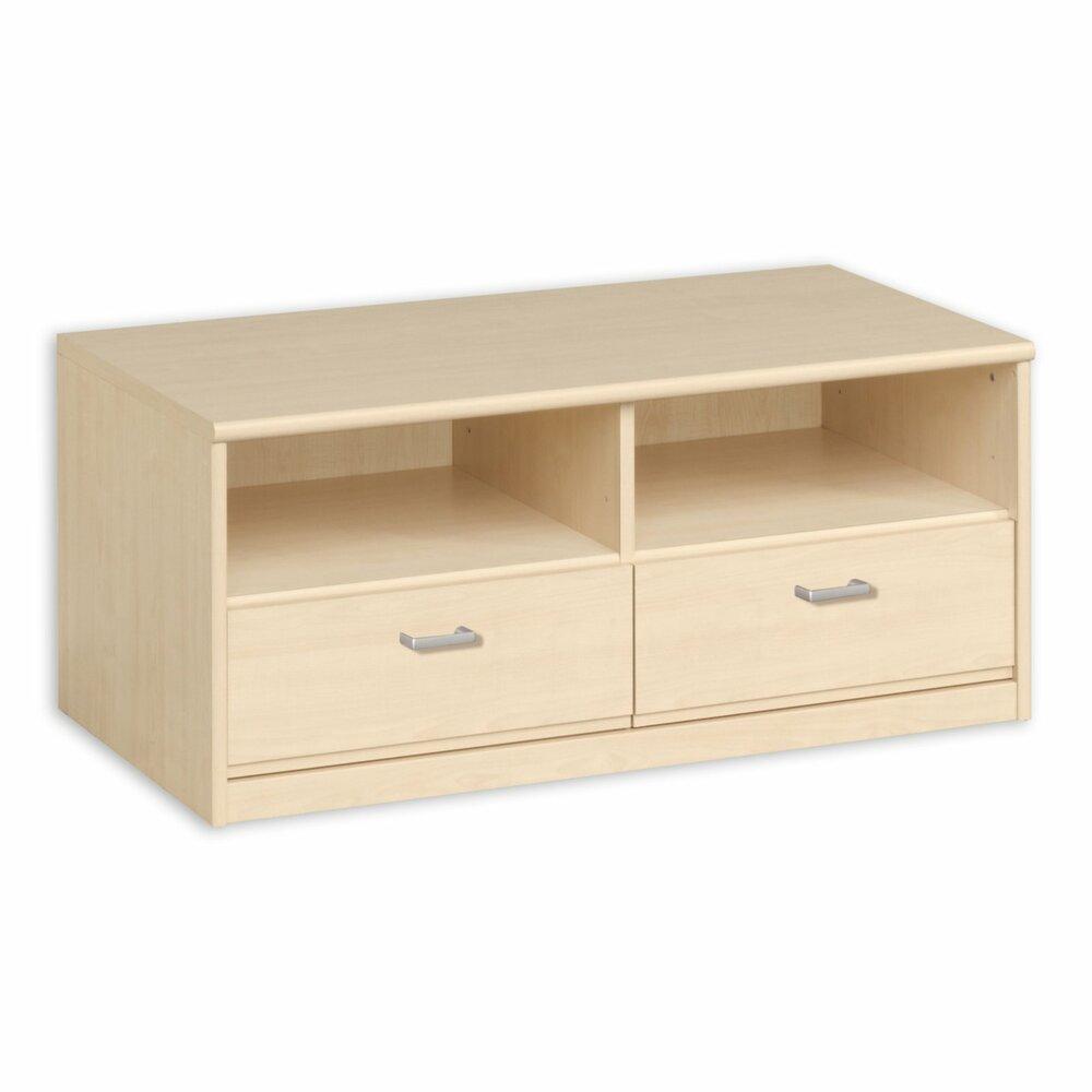 tv lowboard soft 010 85 ahorn 106 cm breitangebot. Black Bedroom Furniture Sets. Home Design Ideas