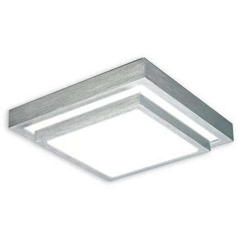 LED-Deckenleuchte DOUBLE - Metall-Acryl