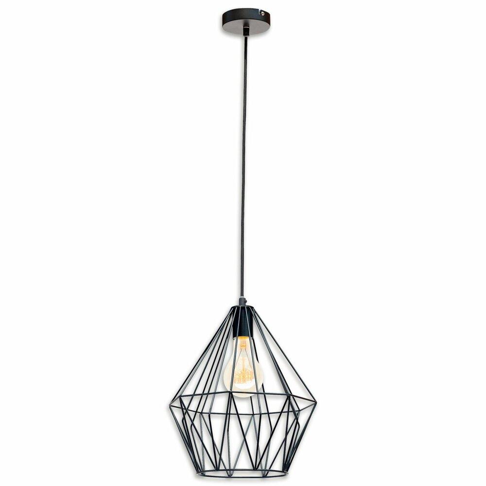lampura pendelleuchte schwarz metall 35 cm pendelleuchten h ngelampen lampen. Black Bedroom Furniture Sets. Home Design Ideas