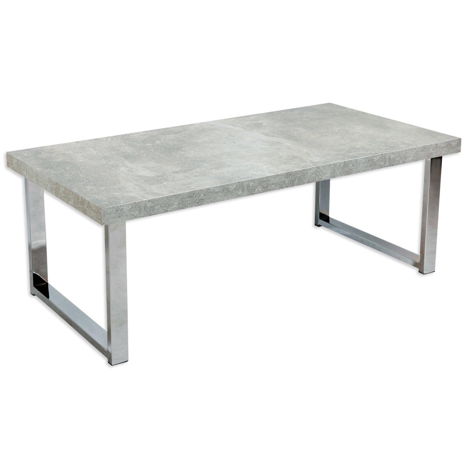 Couchtisch SIMON - Beton - 100 cm breit
