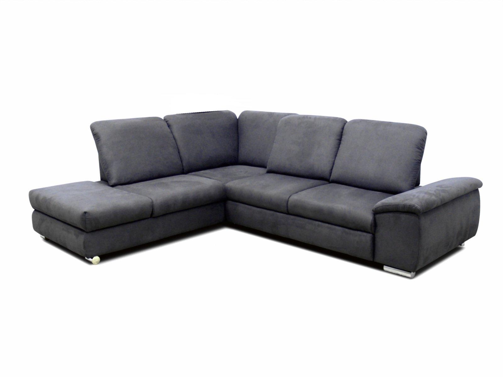 polsterecke grau sitztiefenverstellung rechts ecksofas l form sofas couches m bel. Black Bedroom Furniture Sets. Home Design Ideas