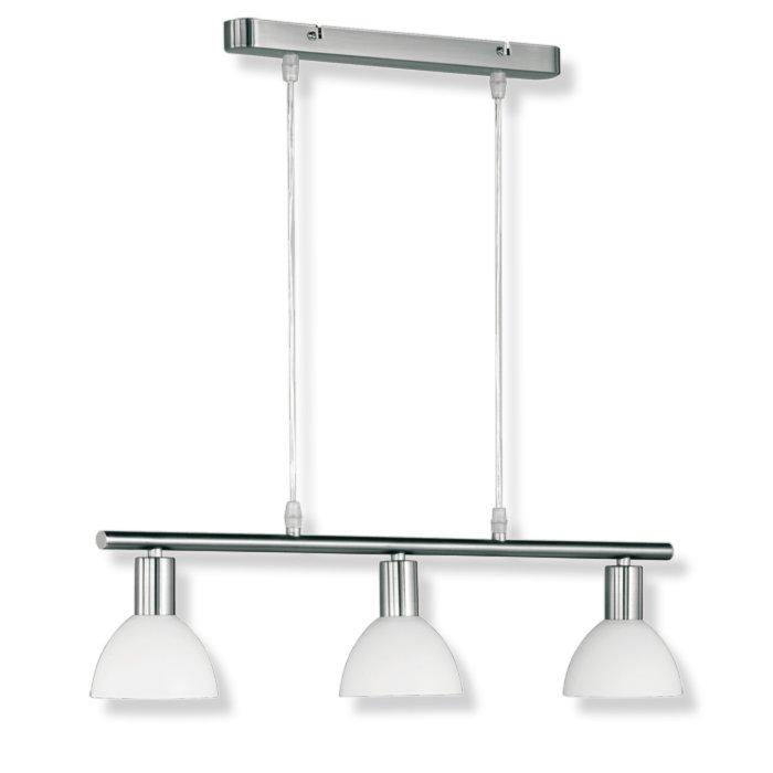pendelleuchte balken nickel glas wei pendelleuchten h ngelampen lampen roller m belhaus. Black Bedroom Furniture Sets. Home Design Ideas