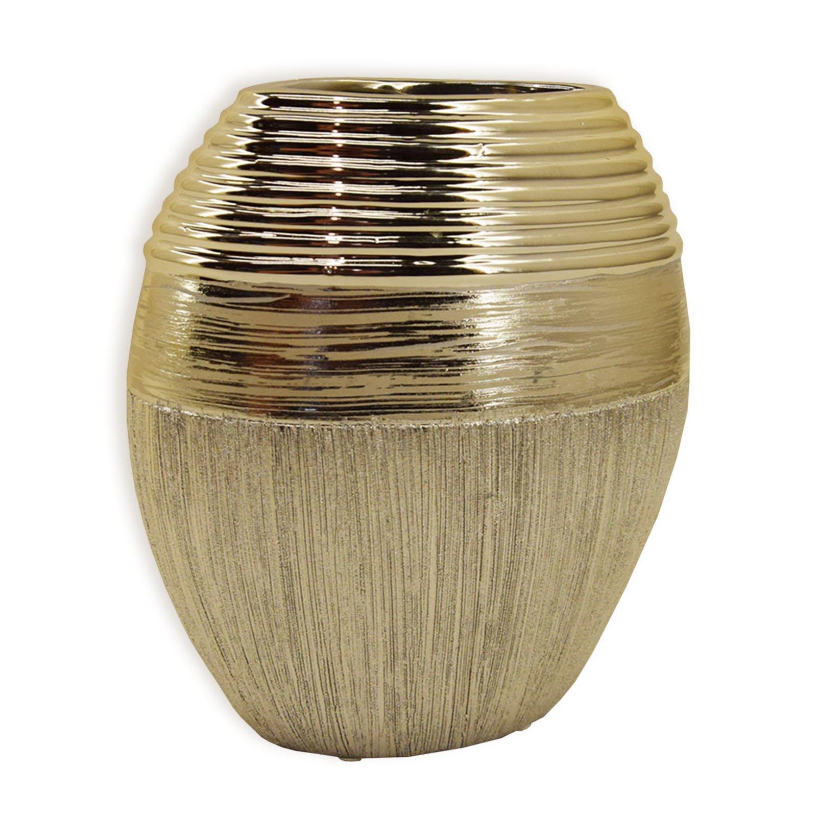 Vase - gold - 22 cm