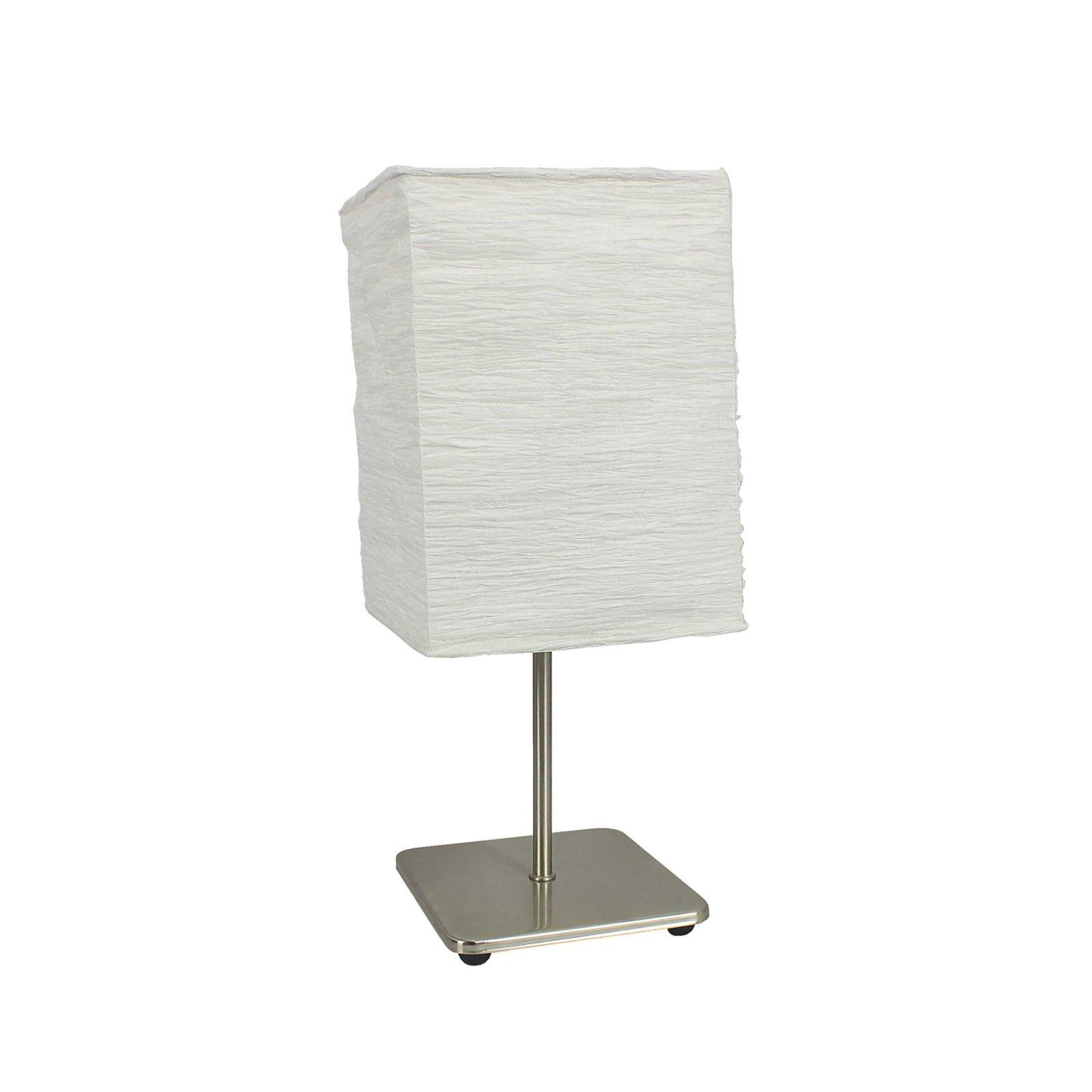 LAMPURA Tischleuchte LIANA - weiß - Metallfuß