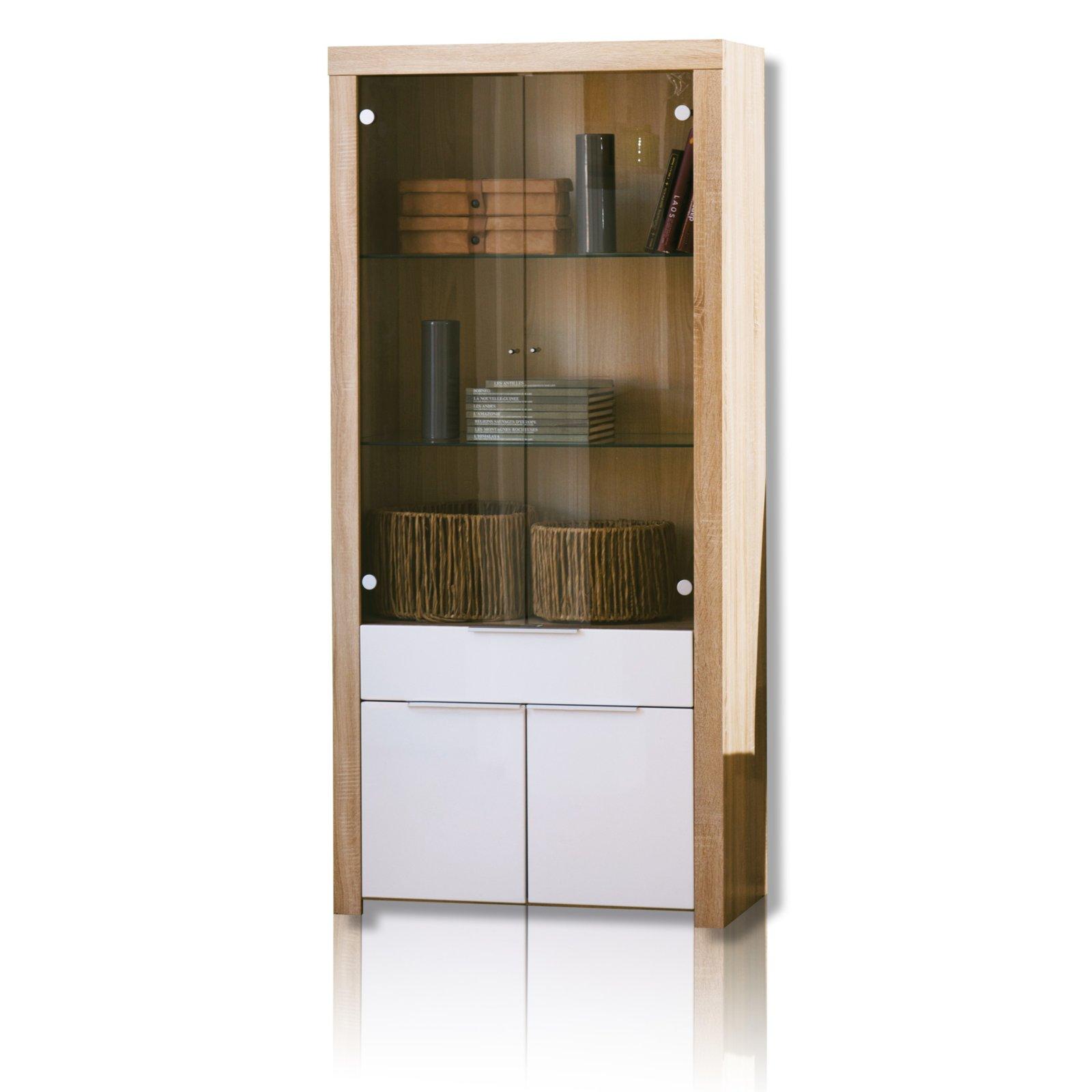 vitrine naxis vitrinen m bel m belhaus roller. Black Bedroom Furniture Sets. Home Design Ideas