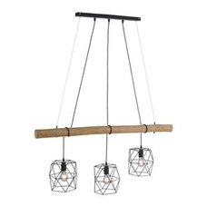 RETRO Pendel Lampe Hänge Vintage Leuchte Metall Gitter Decken Strahler D 40 cm