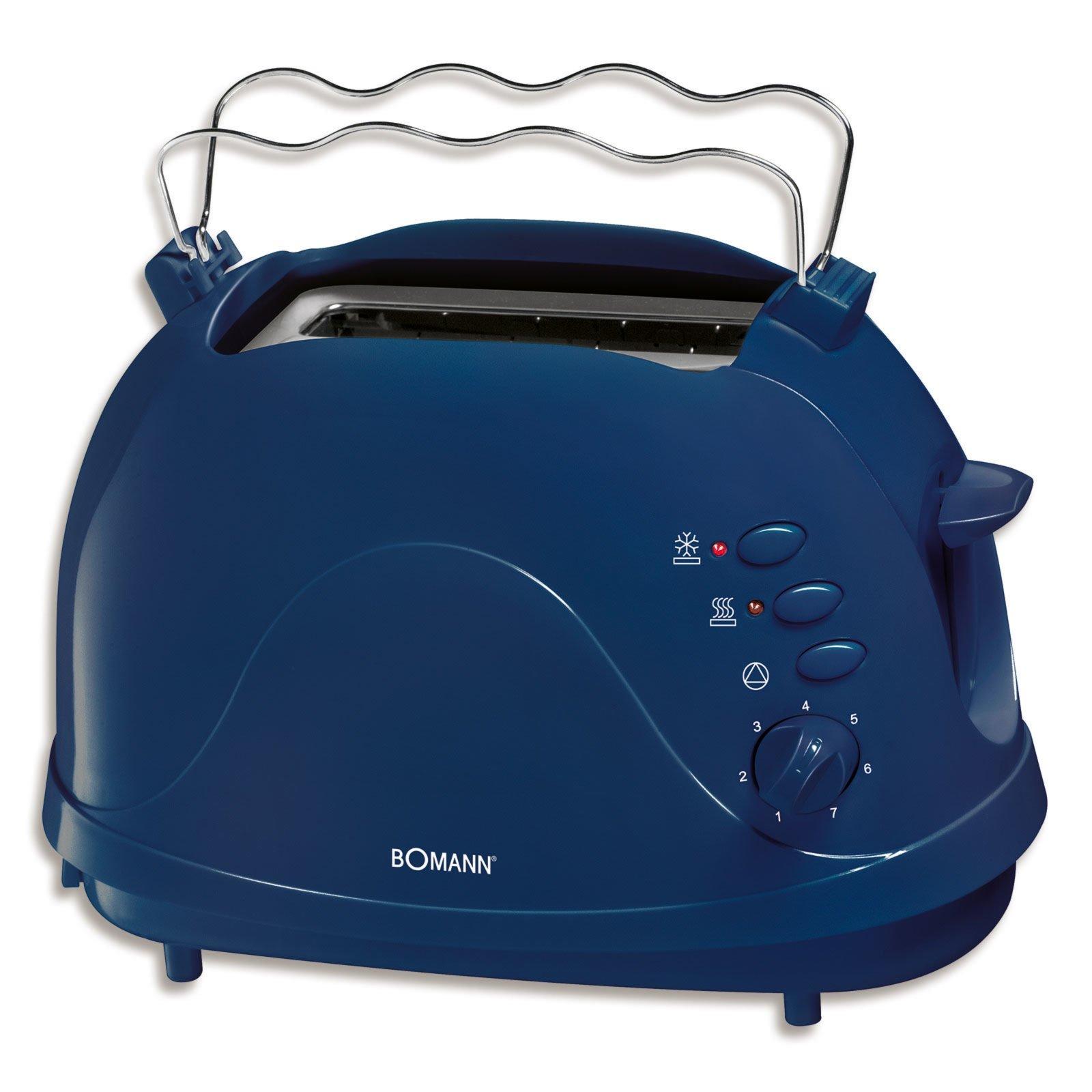 BOMANN Toaster TA 246 CB - blau