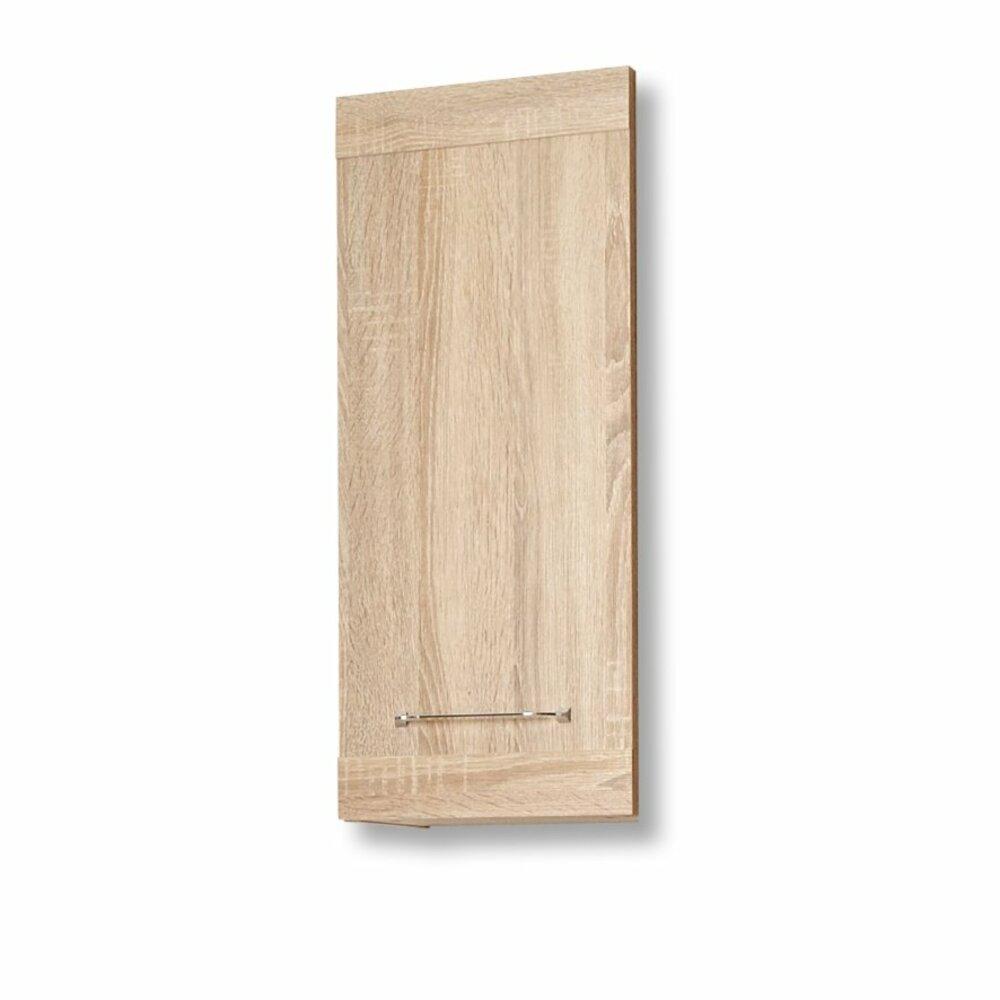 wandschrank luanda eiche natur 1 t r badezimmer h ngeschr nke badm bel badezimmer. Black Bedroom Furniture Sets. Home Design Ideas