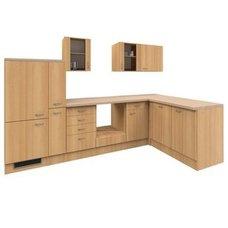 Winkelküche NANO   Buche   310x170 Cm