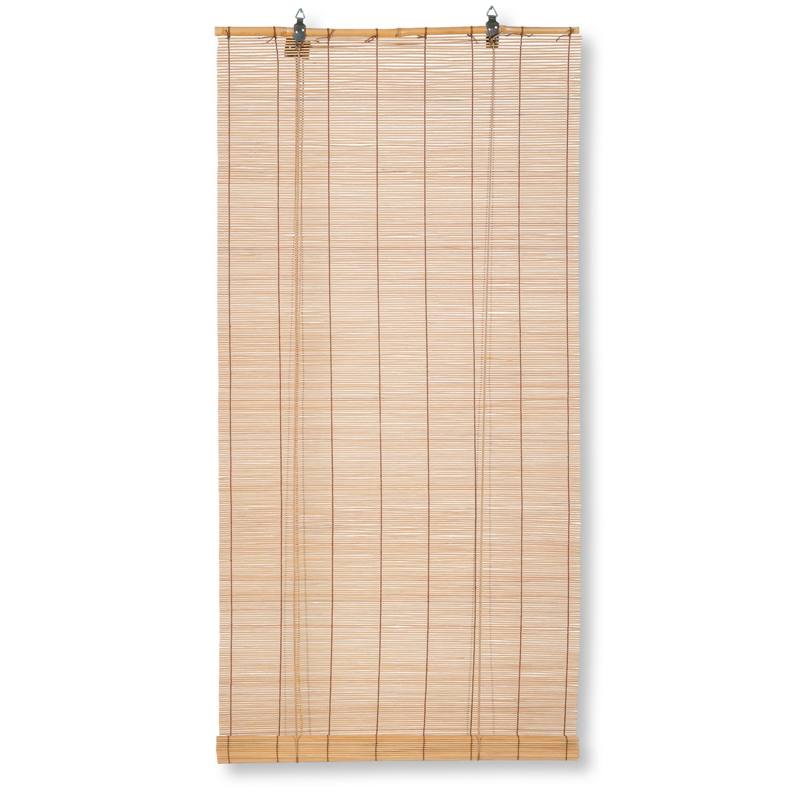 Bambus-Raffrollo - hellbraun - 60x160 cm