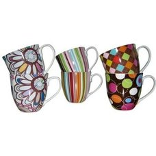 Kaffeebecher XXL - multicolor - sortierte Designs