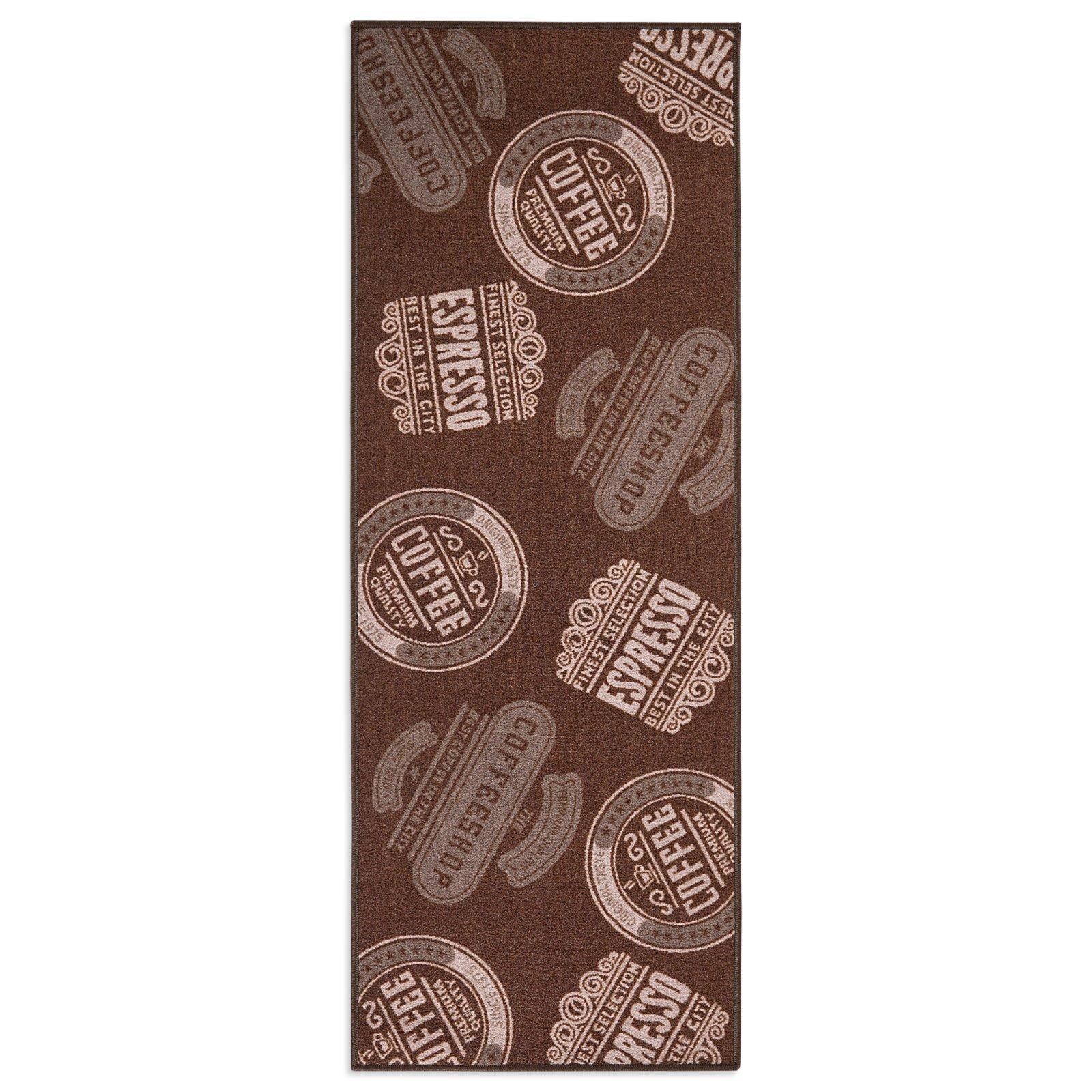 Küchenläufer COFFEESHOP - braun - 67x180 cm