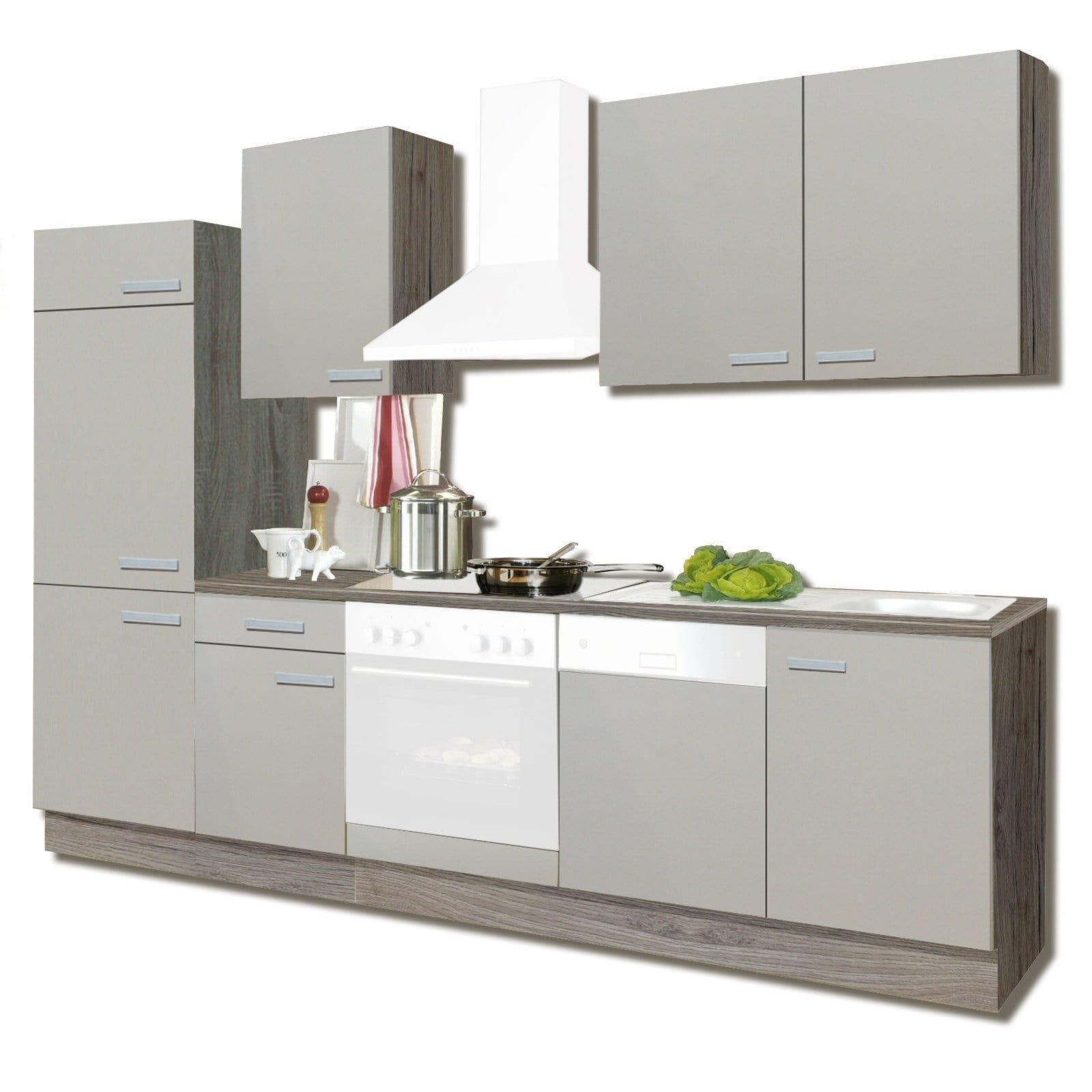 Küchenzeile & Küchenblock mit und ohne E-Geräte - günstig online ...