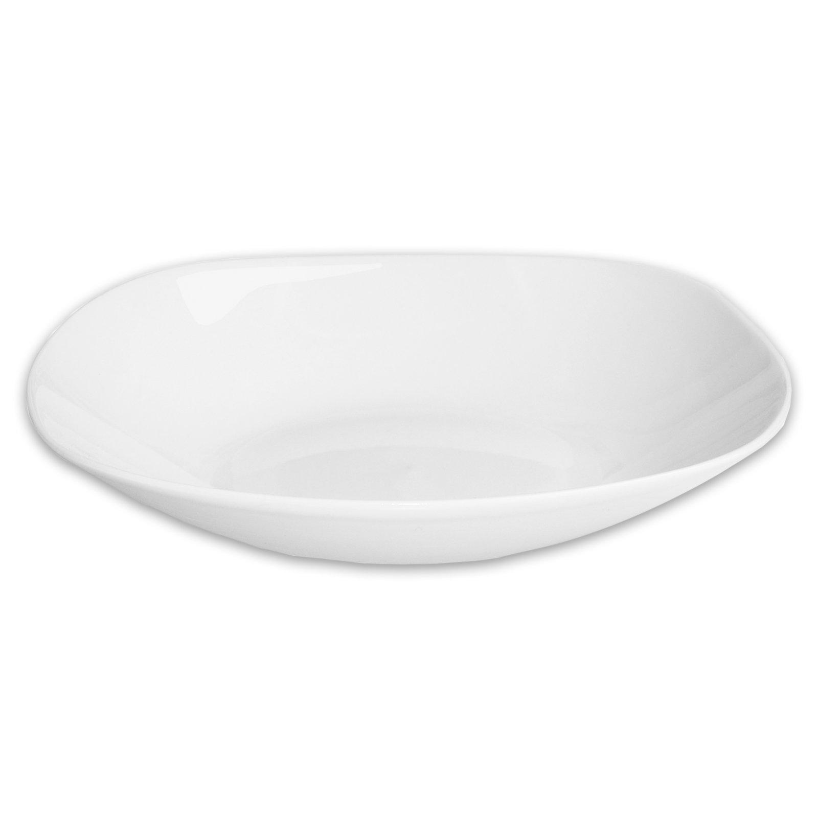 Suppenteller TANGOLO - weiß - Porzellan - Ø 23 cm