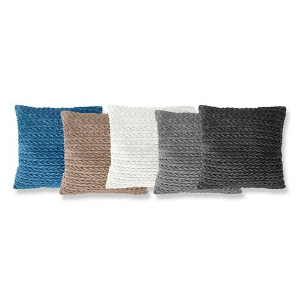 bodenkissen wei geflochten 60x60 cm sofakissen kissen deko haushalt roller. Black Bedroom Furniture Sets. Home Design Ideas