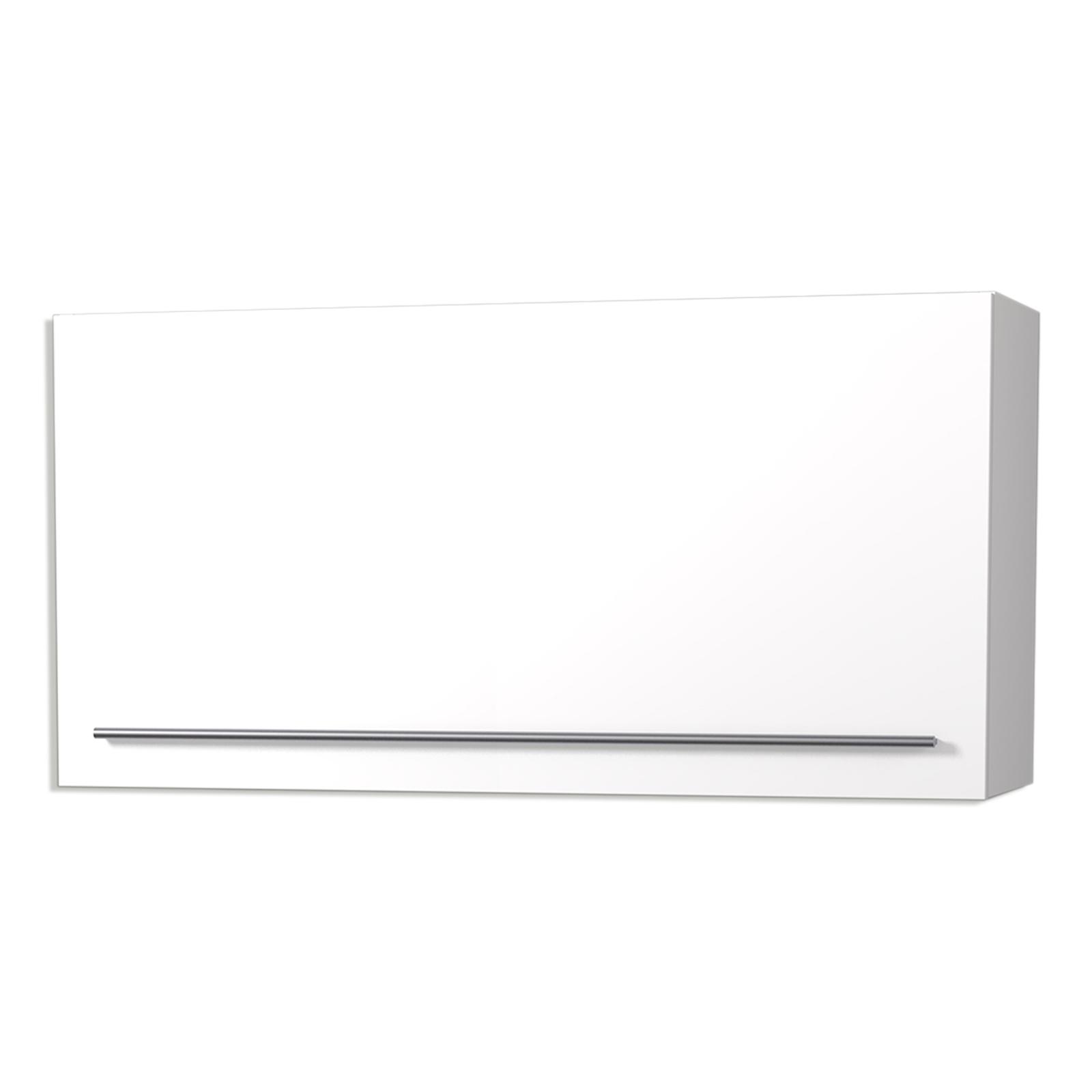 Hängeschrank - weiß Hochglanz - 10 cm