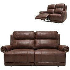 2,5 Sitzer-Sofa - braun - Relaxfunktion