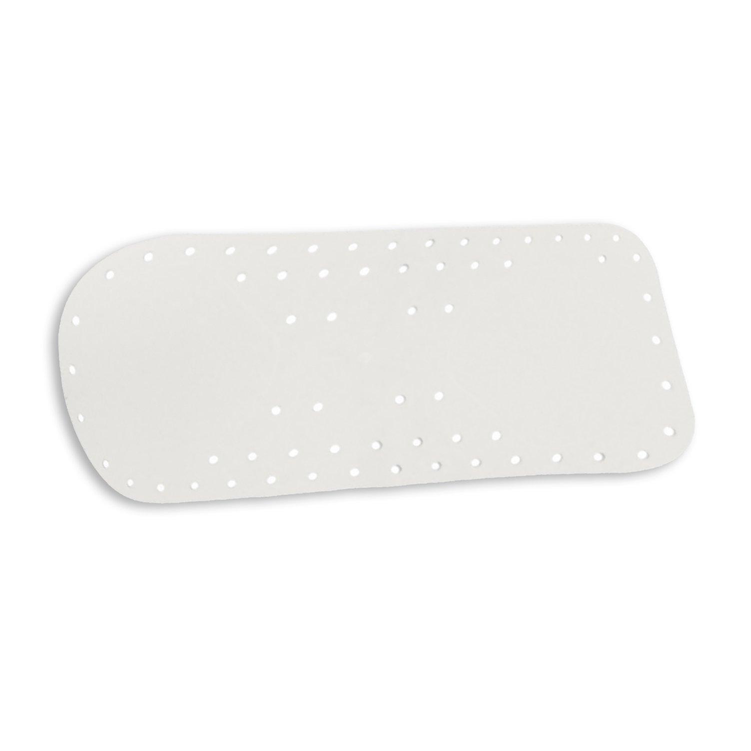 antirutschmatte wei 70x35 cm anti rutsch bad accessoires badezimmer wohnbereiche. Black Bedroom Furniture Sets. Home Design Ideas