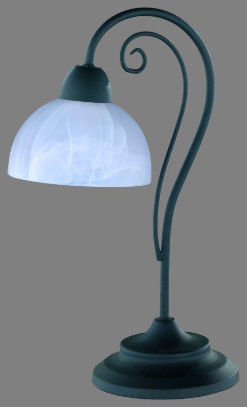 tischleuchte im landhausstil tischlampen lampen. Black Bedroom Furniture Sets. Home Design Ideas