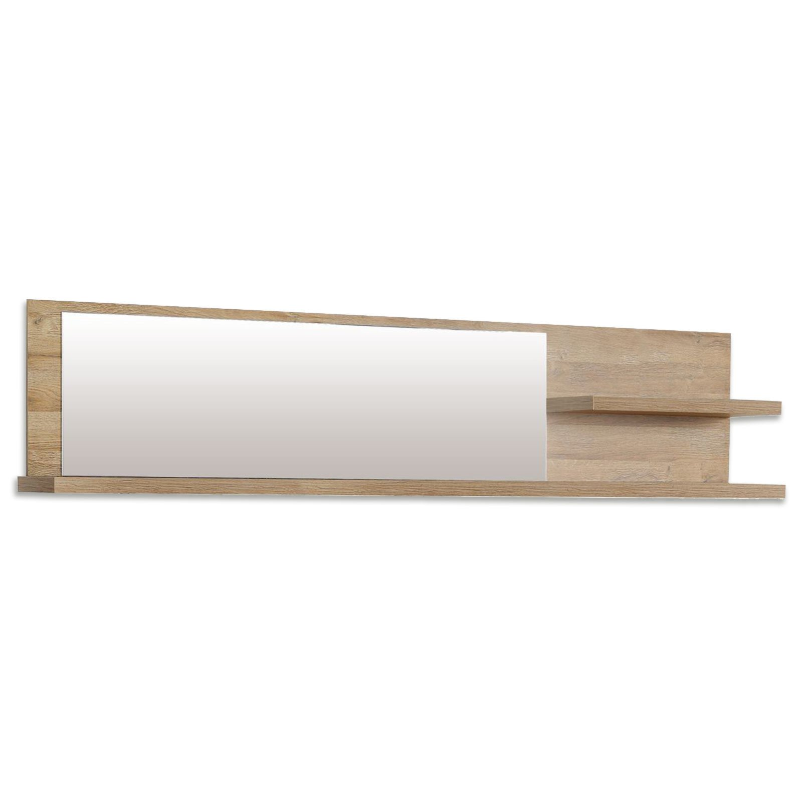 wandregal corona alteiche 213 cm breit wandregale. Black Bedroom Furniture Sets. Home Design Ideas