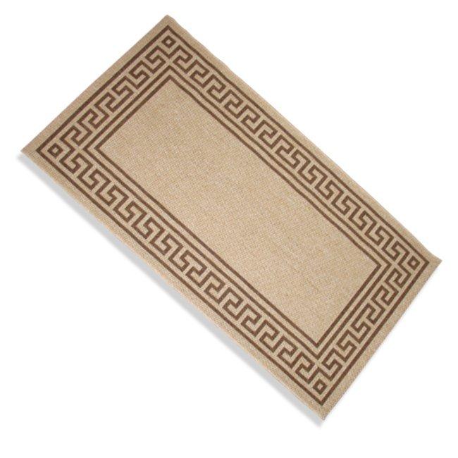 Teppich OSLO  braun  80×240 cm  Gemusterte Teppiche