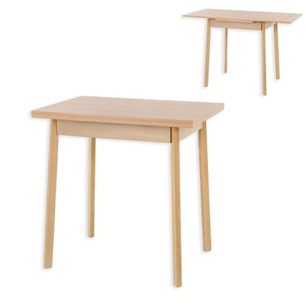 Esstisch TRIER 2 - Buche - ausziehbar - 55x76 cm  Esstische  Sitzen ...