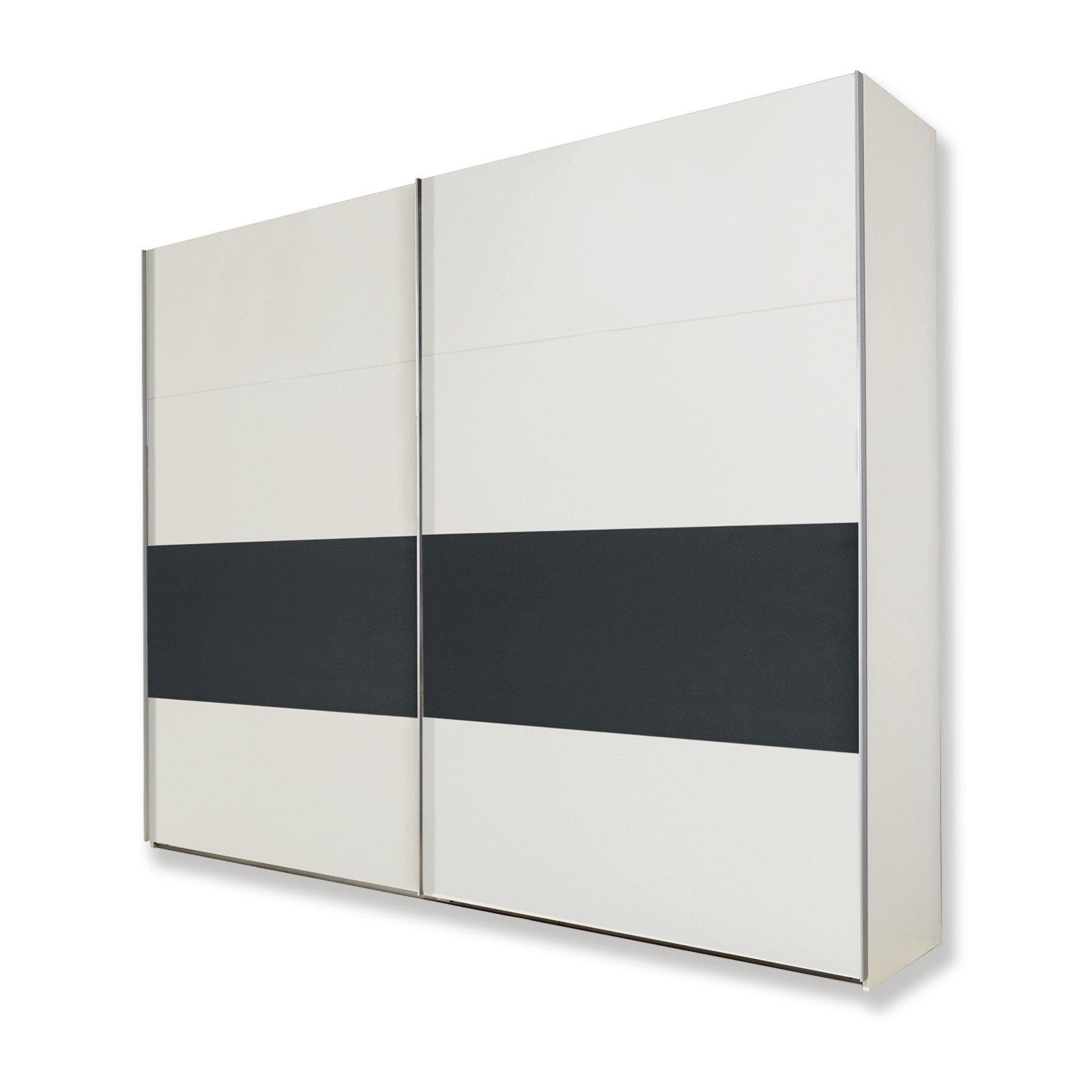 schwebet renschrank bert alpinwei anthrazit 225 cm. Black Bedroom Furniture Sets. Home Design Ideas