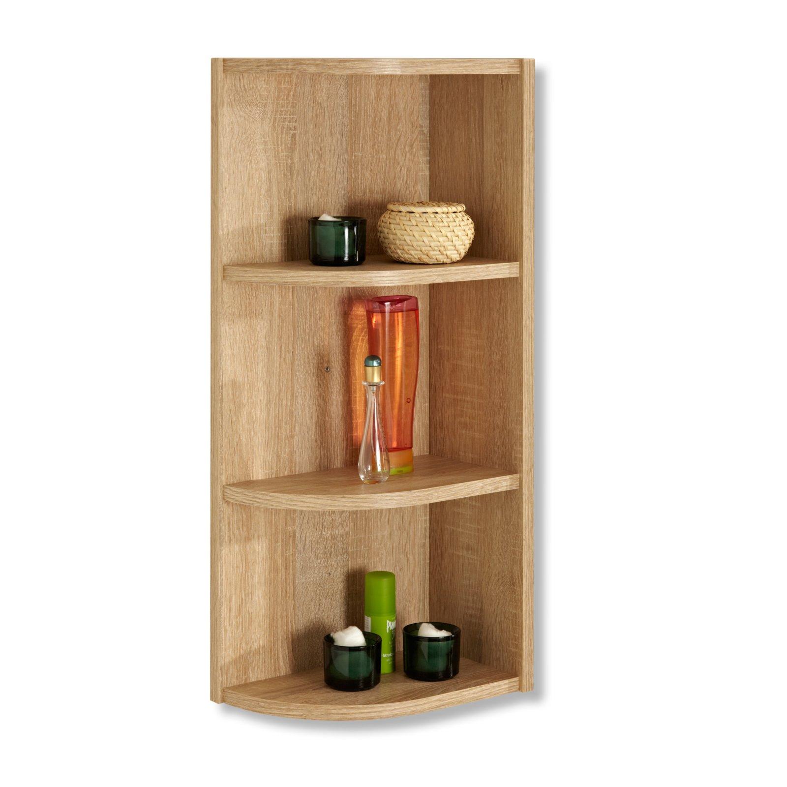 abschlussecke luanda eiche natur badregale badm bel badezimmer wohnbereiche roller. Black Bedroom Furniture Sets. Home Design Ideas