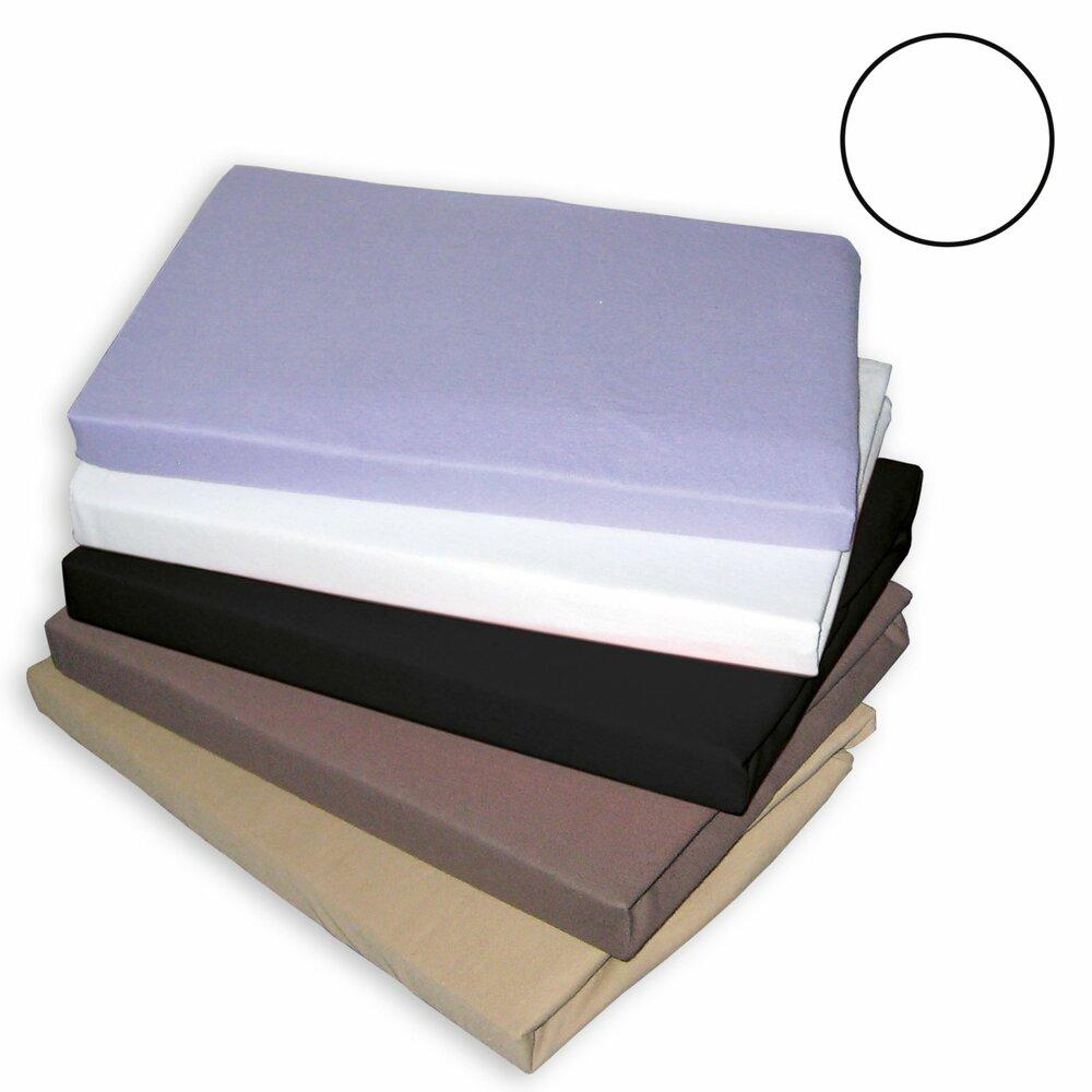 topper spannbettlaken traumhaft gut wei 180x200 cm. Black Bedroom Furniture Sets. Home Design Ideas