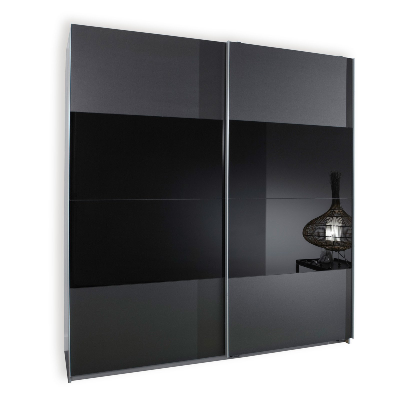 schwebet renschrank enter anthrazit 179 cm breit. Black Bedroom Furniture Sets. Home Design Ideas