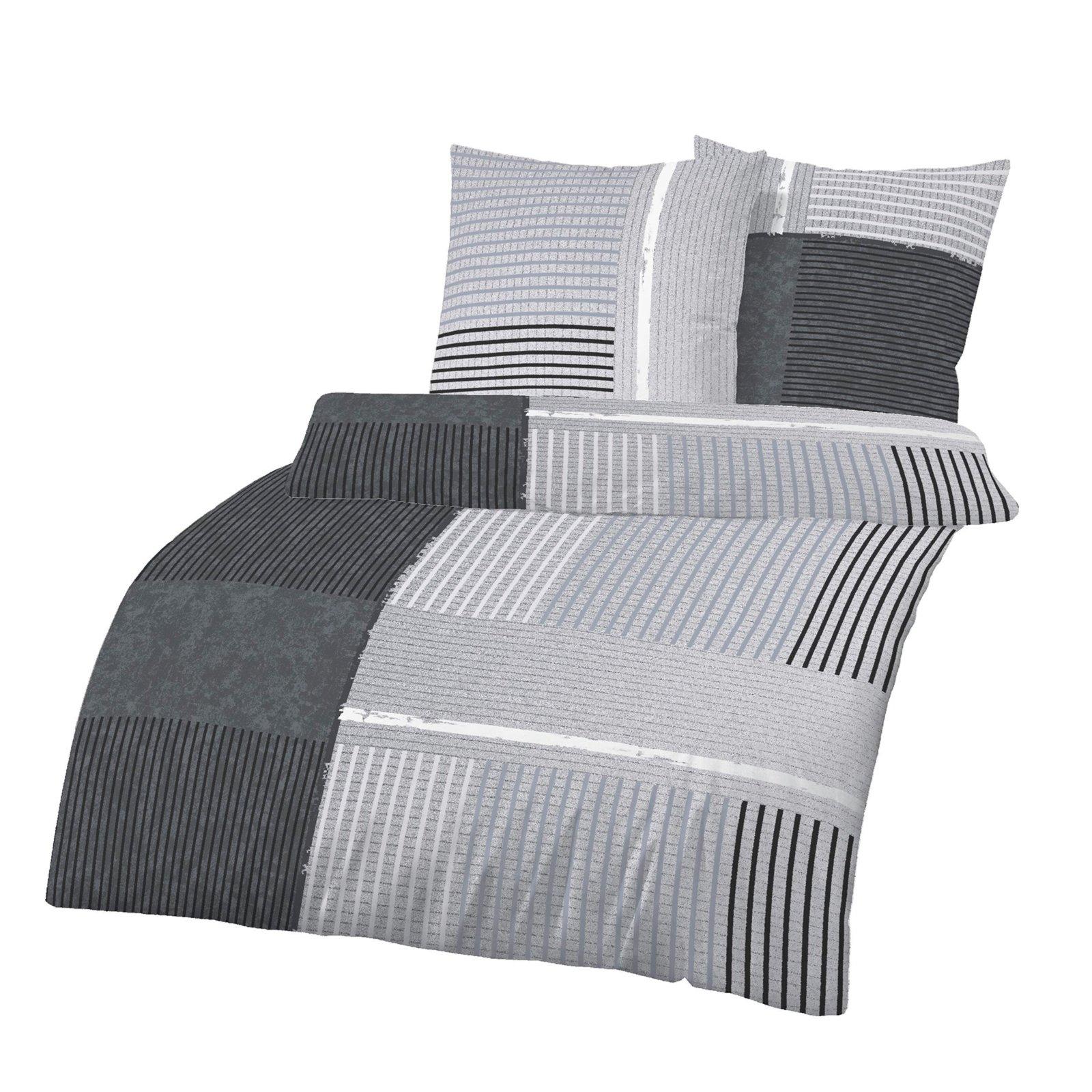 biber bettw sche silber pigmente 155x220 cm bettw sche bettw sche bettlaken. Black Bedroom Furniture Sets. Home Design Ideas