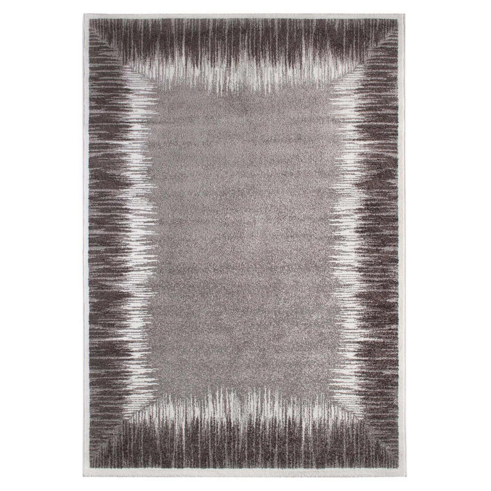 teppich grau 200x290 cm gemusterte teppiche. Black Bedroom Furniture Sets. Home Design Ideas