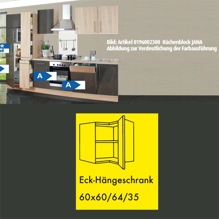 Eckhänger JANA - Sonoma Eiche - 60 cm  Eckschränke ...