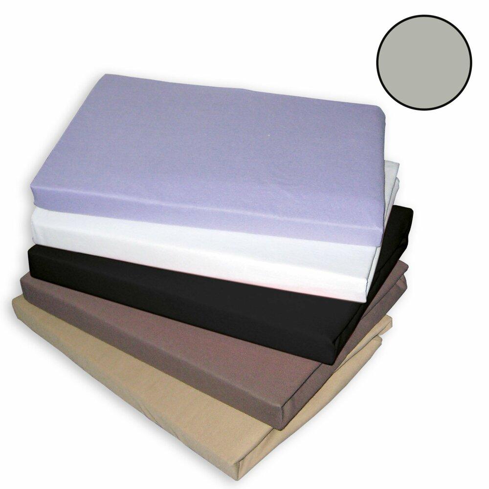 topper spannbettlaken traumhaft gut silber 180x200 cm topper spannbettlaken bettw sche. Black Bedroom Furniture Sets. Home Design Ideas