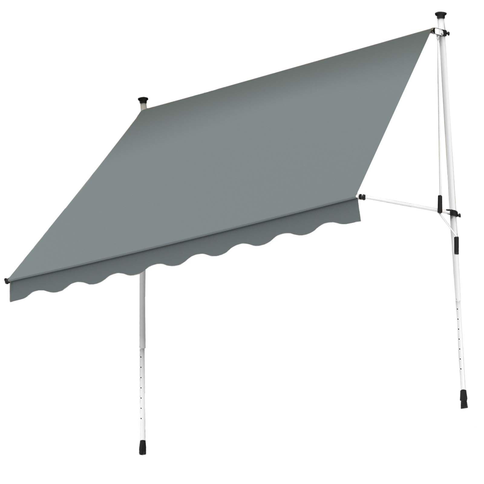 Gut bekannt Klemm-Markise - anthrazit - 195x120 cm | Online bei ROLLER kaufen FS85