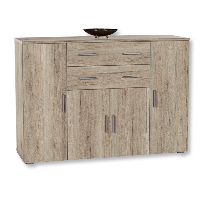 kommode pedro san remo eiche hell kommoden sideboards m bel eiche hell farbe. Black Bedroom Furniture Sets. Home Design Ideas