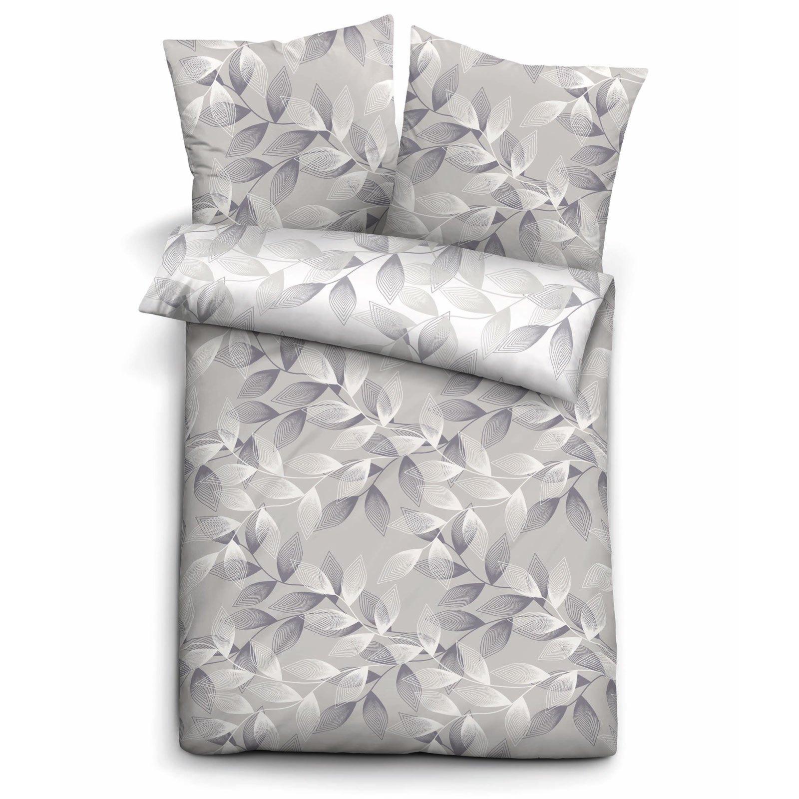 renforc bettw sche biberna grau 135x200 cm bettw sche bettw sche bettlaken. Black Bedroom Furniture Sets. Home Design Ideas
