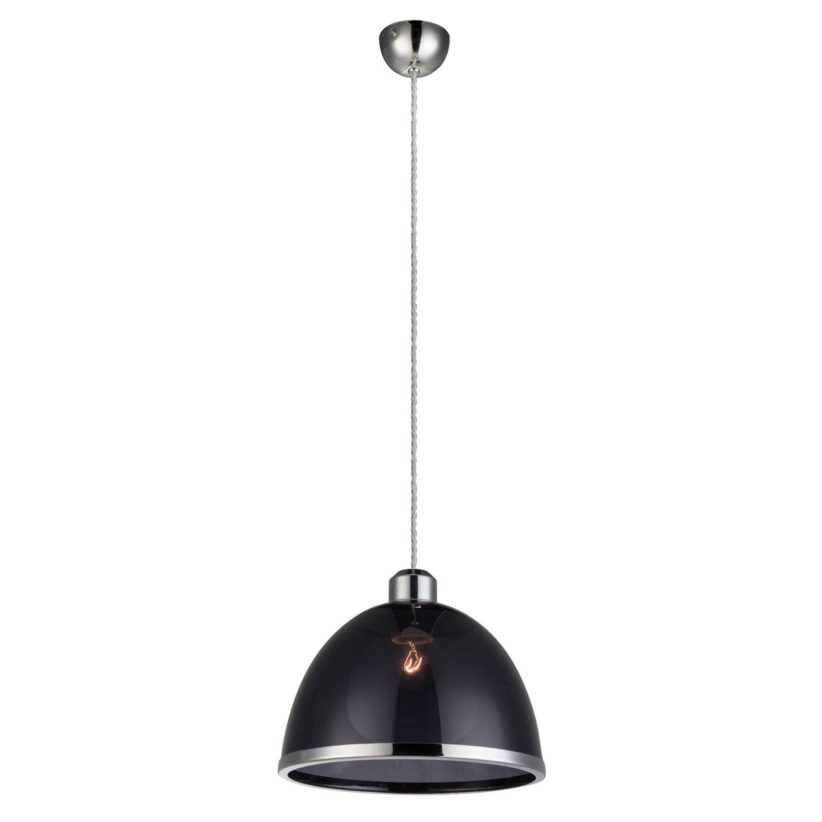 pendelleuchte schwarz nickel matt acryl pendelleuchten lampen m bel m belhaus roller. Black Bedroom Furniture Sets. Home Design Ideas