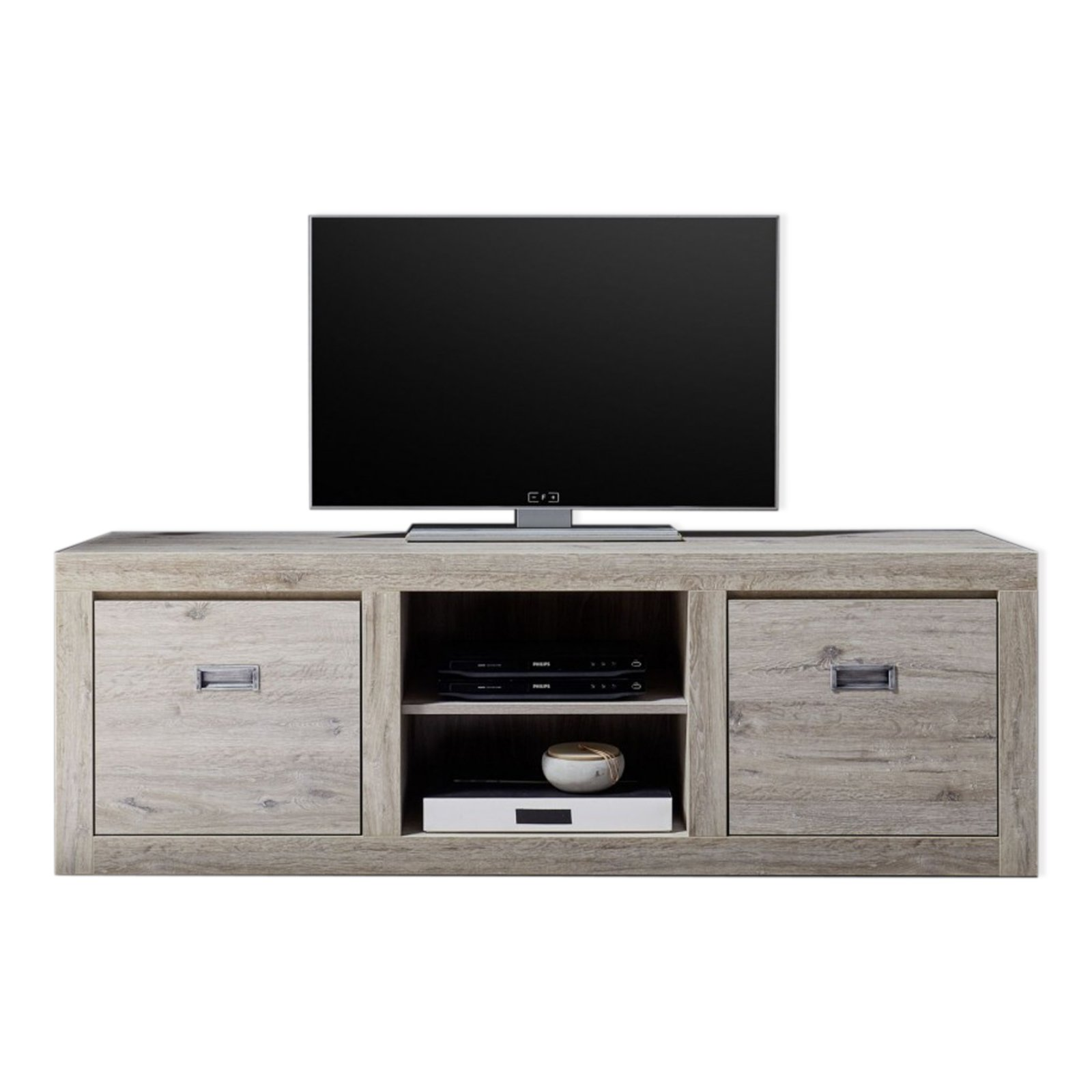 lowboard biarritz ancona oak 166 cm tv lowboards. Black Bedroom Furniture Sets. Home Design Ideas