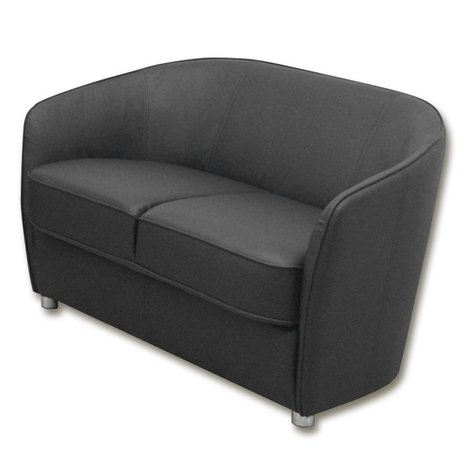 2 sitzer sofa schlamm grau kunstlederangebot bei roller. Black Bedroom Furniture Sets. Home Design Ideas