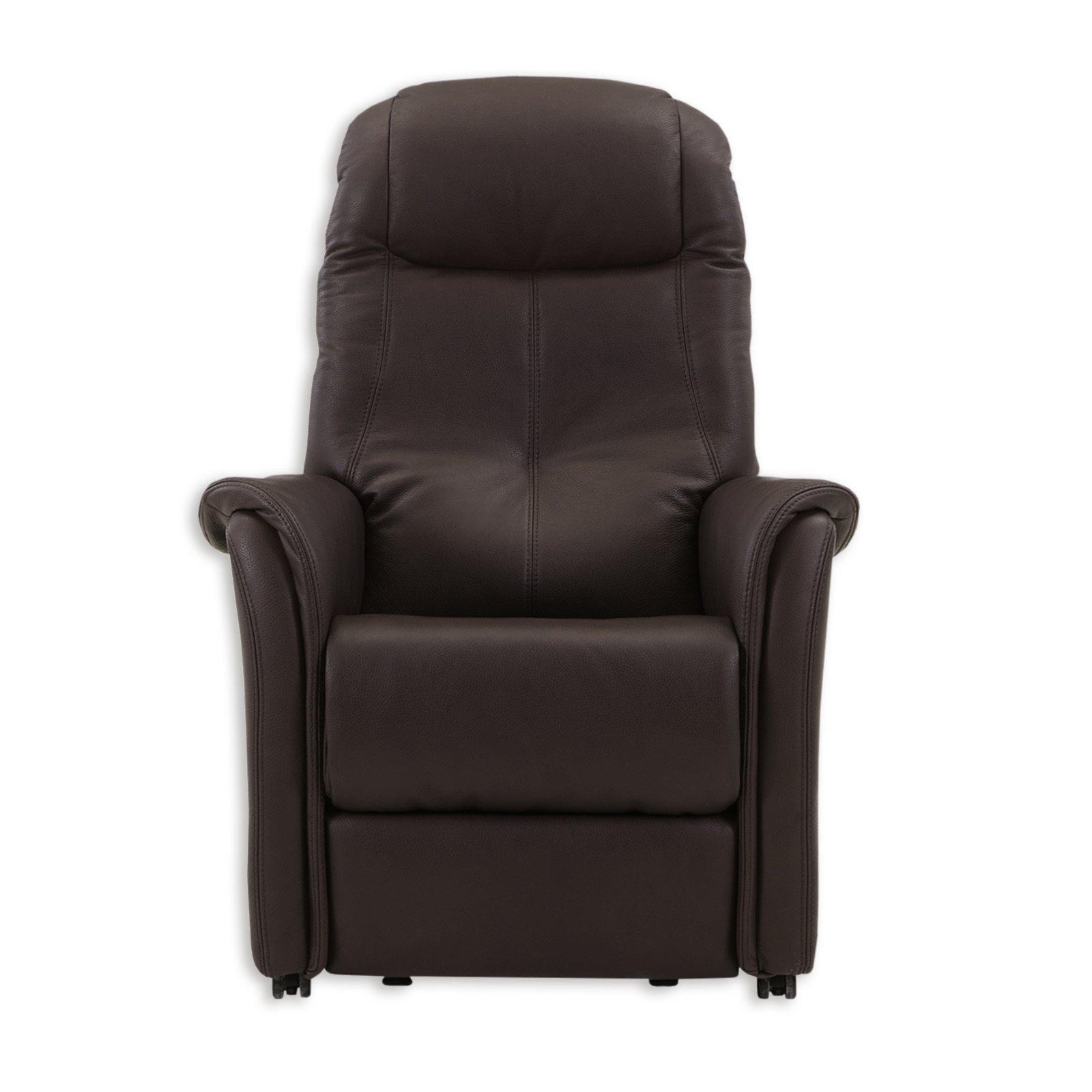 tv ledersessel dunkelbraun funktionen fernseh. Black Bedroom Furniture Sets. Home Design Ideas