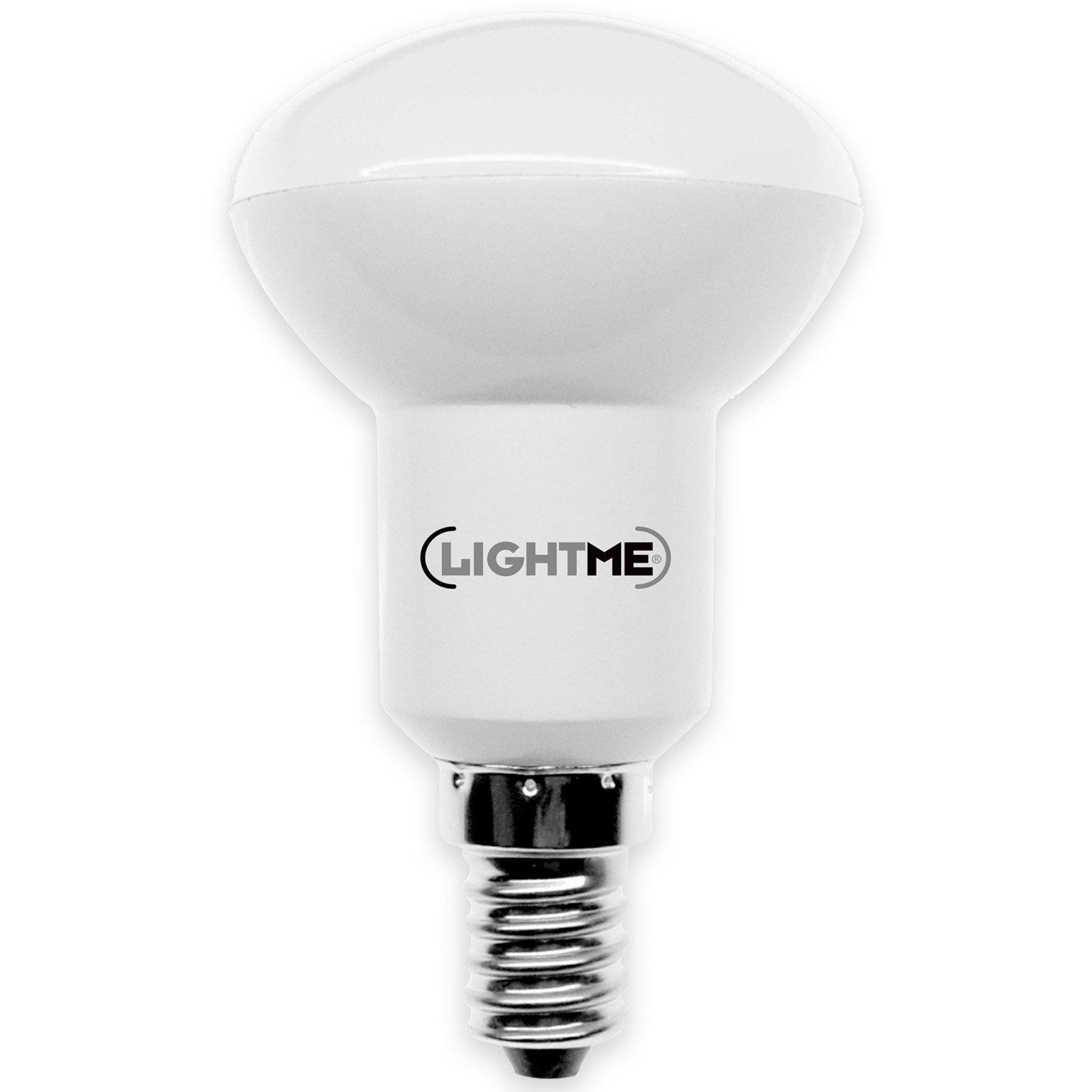 led reflektor lightme e 14 6 watt warmwei led leuchtmittel leuchtmittel gl hbirnen. Black Bedroom Furniture Sets. Home Design Ideas