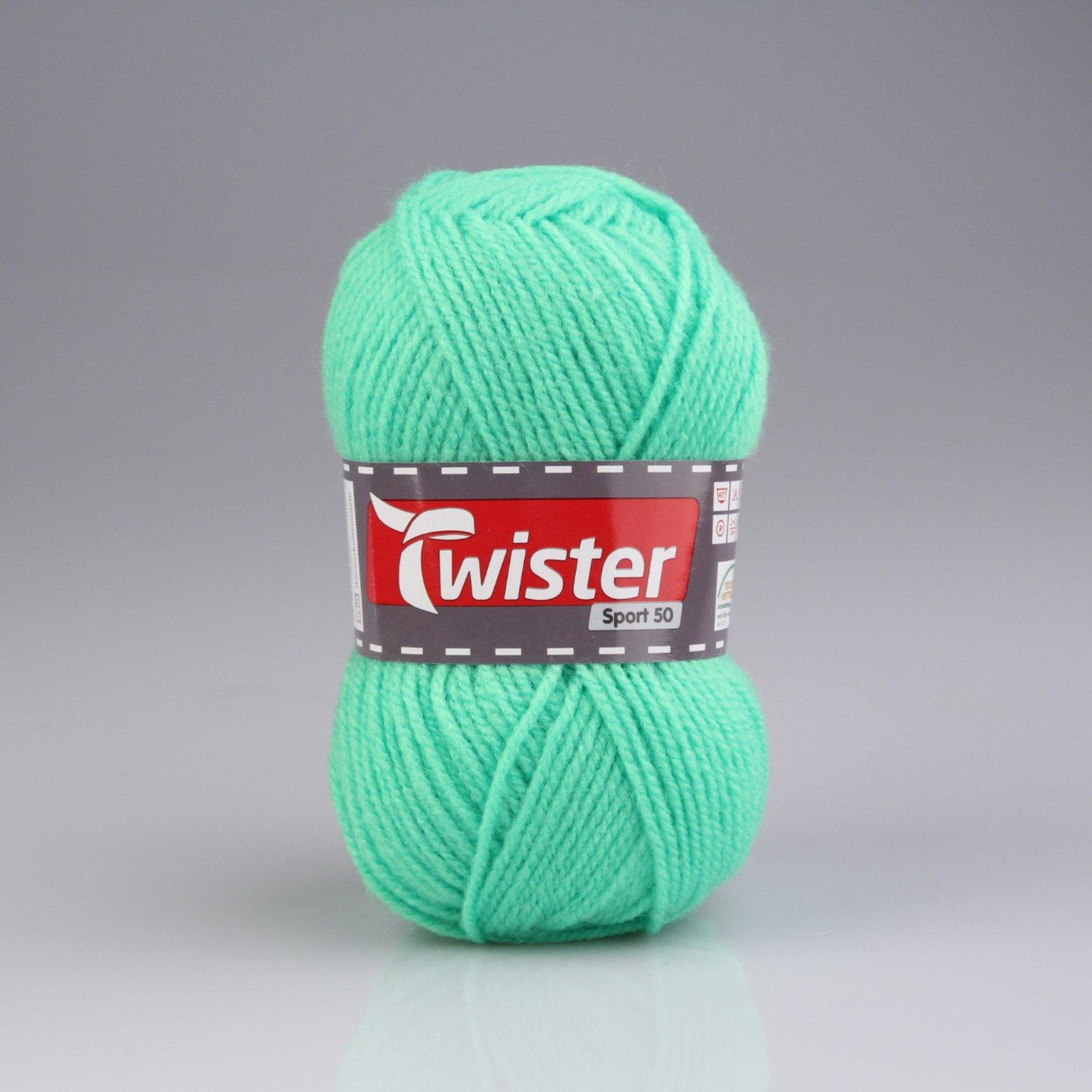 Wolle TWISTER SPORT UNI - neongrün - 50g
