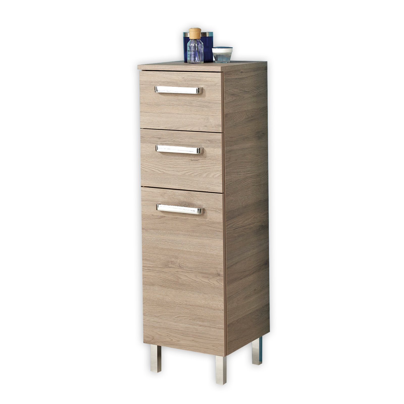 highboard offenbach san remo eiche badprogramm. Black Bedroom Furniture Sets. Home Design Ideas